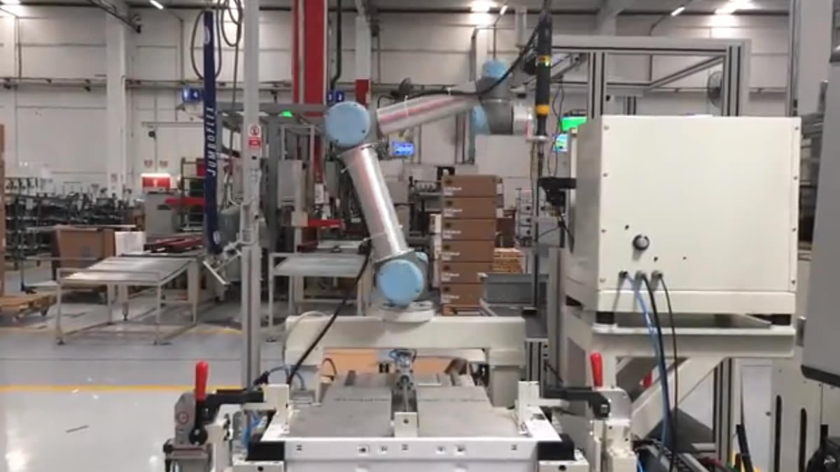 Automated Robotic Screwing